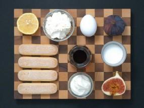 Zutaten für das Feigen-Tiramisu