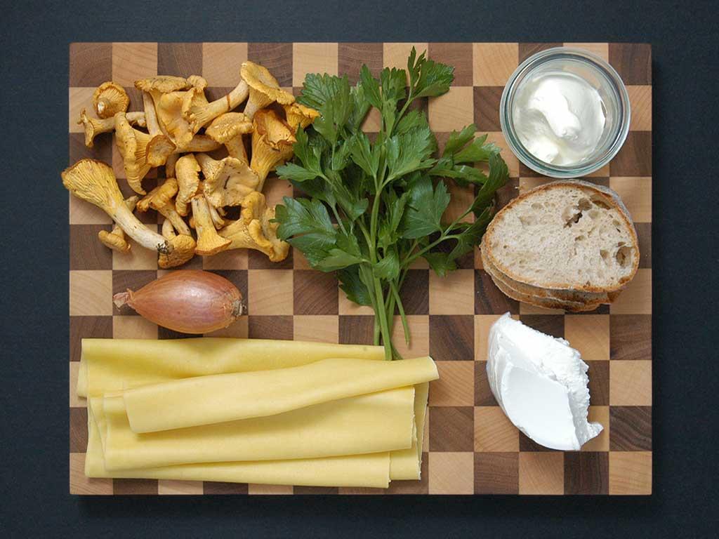 Ravioli mit Eierschwämmli