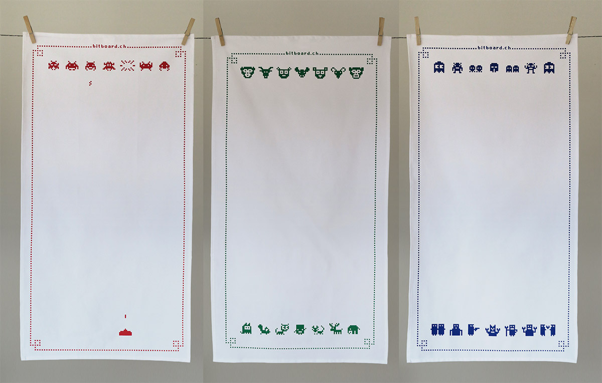 Geschirrtücher von Bitboard – die neue Software ist da
