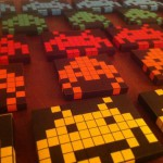 Space Invaders als Beleuchtung