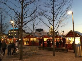 Das Wienachtsdorf in Zürich